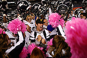 120311-Denver, COLORADO-wildartsnow-Columbine High School celebrates winning the 2011 5A State Football Championship game Saturday, Dec. 3, 2011 at Sports Authority Field at Mile High in Denver. The Rebels defeated the Tigers, 41-31 to claim the title. .Photo By Matthew Jonas/Evergreen Newspapers/Photo Editor