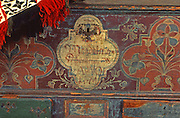 1774 Pennsylvania German chest and 1837 blanket, Historical Society, Reading, Berks Co., PA