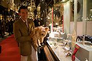 MATTHEW UPHAM; WINNIE, Patsy Kensit turns on Burlington Arcade Christmas Lights, Burlington Arcade, London, W1. 26 November 2008 *** Local Caption *** -DO NOT ARCHIVE -Copyright Photograph by Dafydd Jones. 248 Clapham Rd. London SW9 0PZ. Tel 0207 820 0771. www.dafjones.com