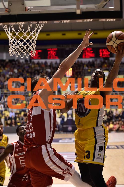 Patterson Lamar<br /> FIAT Torino - EA7 Emporio Armani Milano<br /> Lega Basket Serie A 2017-2018<br /> Torino 10/12/2017<br /> Foto M.Matta/Ciamillo & Castoria