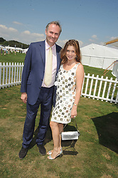 WILLIAM & VANESSA CASH at the Cartier International Polo at Guards Polo Club, Windsor Great Park on 27th July 2008.<br /> <br /> NON EXCLUSIVE - WORLD RIGHTS