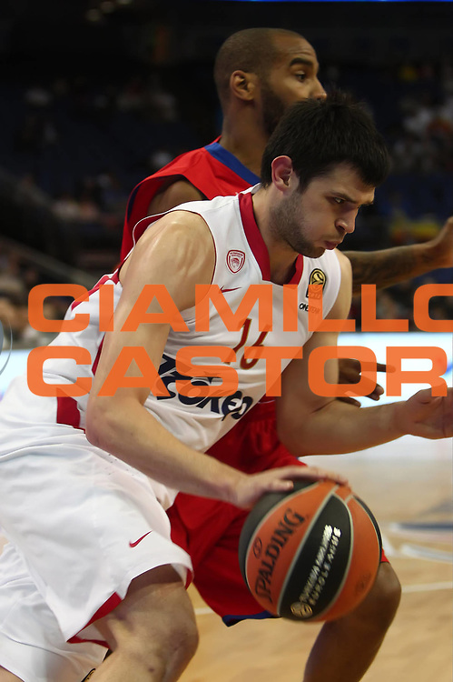 DESCRIZIONE : Londra London Eurolega Eurolegue 2012-13 Final Four Semifinal  CSKA Moscow Olympiacos Piraeus CSKA Mosca Olympiacos Pireo<br /> GIOCATORE : Kostas Papanikolaou<br /> SQUADRA : Olympiacos Pireaus Olympiacos Pireo <br /> CATEGORIA : palleggio<br /> EVENTO : Eurolega 2012-2013<br /> GARA : FC Barcellona Regal FC Barcelona Regal Real Madrid<br /> DATA : 10/05/2013<br /> SPORT : Pallacanestro<br /> AUTORE : Agenzia Ciamillo-Castoria/GiulioCiamillo<br /> Galleria : Eurolega 2012-2013<br /> Fotonotizia : Londra London Eurolega Eurolegue 2012-13 Final Four Semifinal  CSKA Moscow Olympiacos Piraeus CSKA Mosca Olympiacos Pireo<br /> Predefinita :