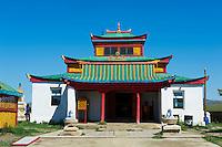 Mongolie, Province de Ovorkhangai, monastere de Uyanga // Mongolia, Ovorkhangai province, Oyunga monastery