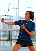 20 Aug 2016: Molly Fennessy, from Clare.  Badminton U15 Girls.   2016 Community Games National Festival 2016.  Athlone Institute of Technology, Athlone, Co. Westmeath. Picture: Caroline Quinn