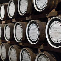 Barrels at the Yamazaki Distillery in Yamazaki, Osaka Prefecture, Japan, November 6, 2015. Gary He/DRAMBOX MEDIA LIBRARY