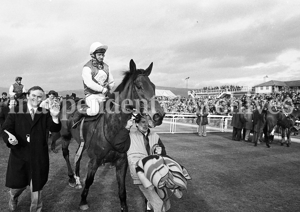 Cheltenham Festival, Cheltenham, England, circa March 1987 (Part of the Independent Newspapers Ireland/NLI Collection).