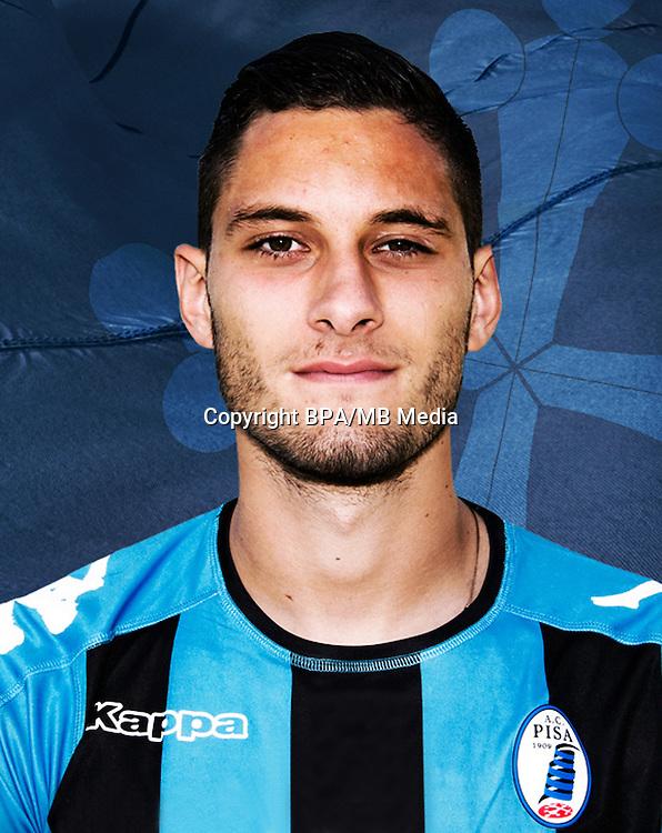 Italian League Serie B -2016-2017 / <br /> ( A.C. Pisa 1909 ) - <br /> Petar Golubovic