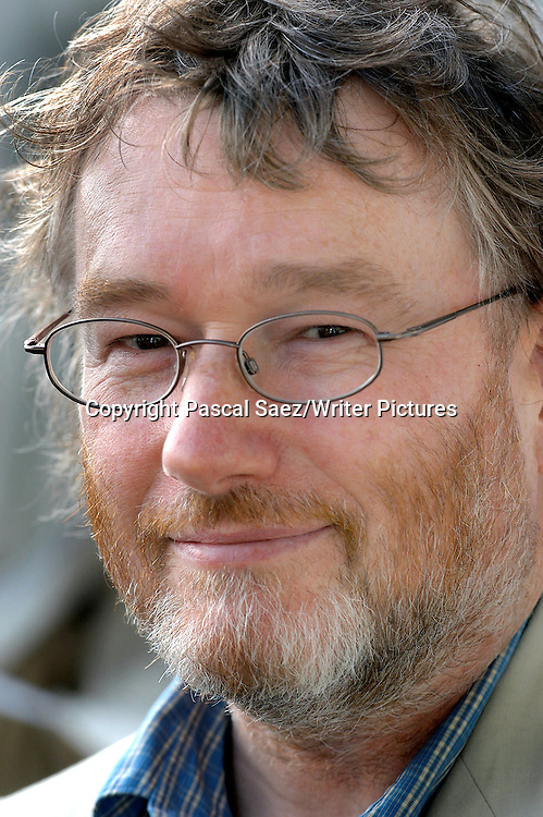 Writer Iain Banks at the Edinburgh International Book Festival in 2003<br /> <br /> Copyright Pascal Saez/Writer Pictures<br /> contact +44 (0)20 822 41564<br /> sales@writerpictures.com<br /> www.writerpictures.com