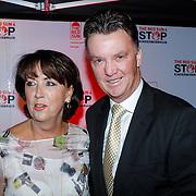 NLD/Blaricum/20121104 - Benefietavond The Red Sun Blaricum  t.b.v. Stop Kindermisbruik, Louis van Gaal met partner Truus Opmeer