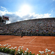 02.06.2018 ITF French Open Tennis Roland-Garros Paris <br /> General view of Court Suzanne Lenglen during Day 6 of the tournament