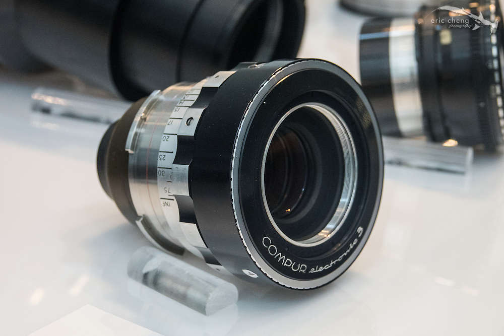 One of Kubrick's legendary 50mm f/0.7 lenses (10 were made).