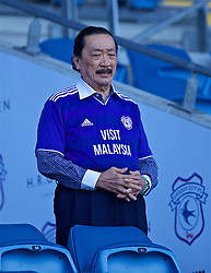 CARDIFF, WALES - Saturday, April 20, 2019: Cardiff City's owner Vincent Tan before the FA Premier League match between Cardiff City FC and Liverpool FC at the Cardiff City Stadium. (Pic by David Rawcliffe/Propaganda)