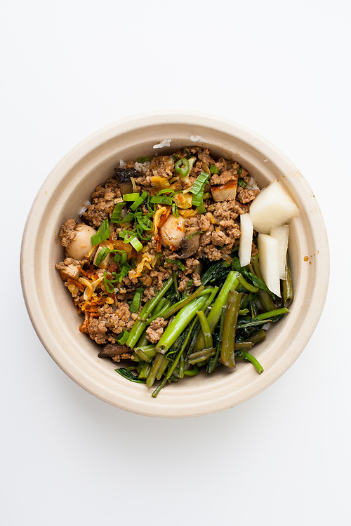Five Spice Pork Bowl from Zai Lai, Mad Sq. Eats ($13.00)