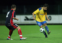 Mitja Viler of Koper  at 1st game of UEFA Cup  Qualifying Round 1 between FC Anet Koper, Slovenia vs KS Vllaznia Shkoder, Albania, on July 17, 2008, in Nova Gorica, Slovenia. Vlazznia won the match 2:1. (Photo by Vid Ponikvar / Sportal Images)