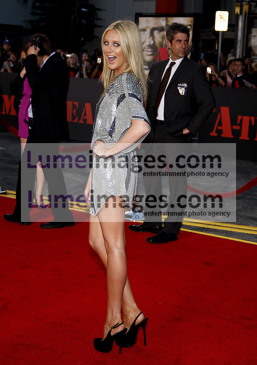 Stephanie Pratt at the Los Angeles premiere of 'The A-Team' held at the Grauman's Chinese Theater in Hollywood on June 3, 2010. Credit: Lumeimages.com