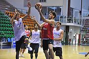 Sassari 14 Agosto 2012 - Qualificazioni Eurobasket 2013 -Allenamento<br /> Nella Foto : DANIELE MAGRO<br /> Foto Ciamillo