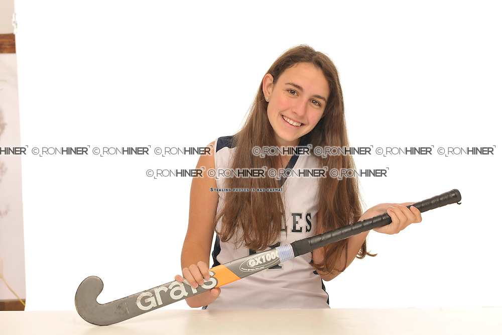 Staples High School Field Hockey..Senior portraits.Lucy Deflavio (SR).