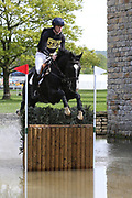 Sam Ecroyd on Cooley Currency during the International Horse Trials at Chatsworth, Bakewell, United Kingdom on 13 May 2018. Picture by George Franks.