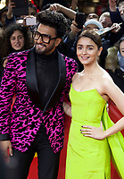 Actor Ranveer Singh and Actress Alia Bhatt at the premiere gala screening of the film Gully Boy  at the Berlinale International Film Festival, on Saturday 9th February 2019, Berlin, Germany.