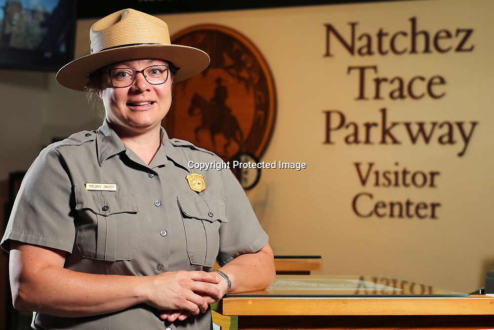 Natchez Trace Park Ranger Melanie Sander.