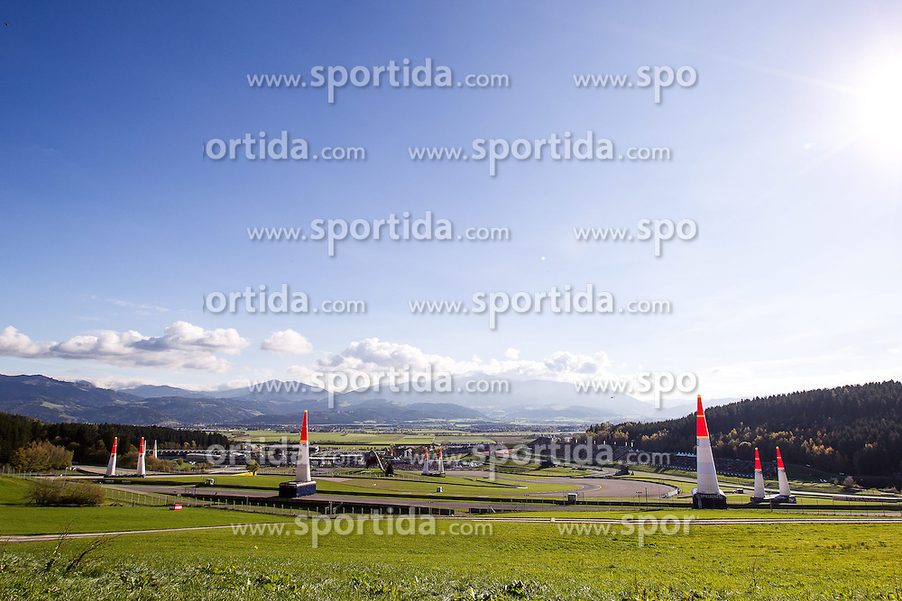 26.10.2014, Red Bull Ring, Spielberg, AUT, Red Bull Air Race, Renntag, im Bild Uebersicht // during the Red Bull Air Race Championships 2014 at the Red Bull Ring in Spielberg, Austria, 2014/10/26, EXPA Pictures © 2014, PhotoCredit: EXPA/ M.Kuhnke