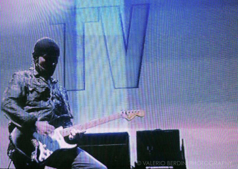 Glastonbury Festival on the BBC.U2 - The Edge