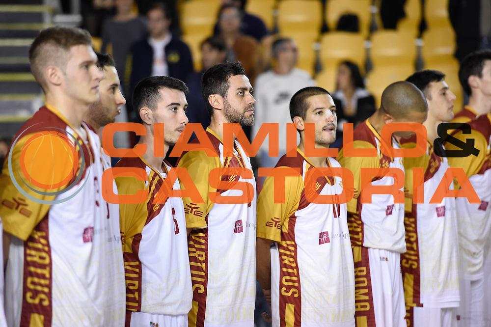 Unicusano Roma<br /> Unicusano Roma - Benacquista Assicurazioni Latina<br /> Campionato Basket LNP 2016/2017<br /> Roma 06/11/2016<br /> Foto Ciamillo-Castoria