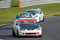 #6 Russell Hird Honda Integra Type R 1998 during the CSCC Tin Tops at Oulton Park, Little Budworth, Cheshire, United Kingdom. October 15 2016. World Copyright Peter Taylor/PSP. <br /> Copy of publication required for printed pictures.  Every used picture is fee-liable. http://archive.petertaylor-photographic.co.uk