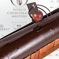 Olivier Tribut's Chocolate Layered Cake. World Chocolate Masters Canadian Selection, January 20, 2013.