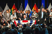Governor Pat Quinn signing Illinois's marriage equality legislation into law on Wednesday, November 20, 2013 at the UIC Forum.
