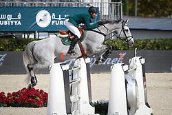 HRH Prince Al Saud Abdullah (KSA) - Davos<br /> Furusiyya FEI Nations Cup Jumping Final Round 1<br /> CSIO Barcelona 2013<br /> © Dirk Caremans