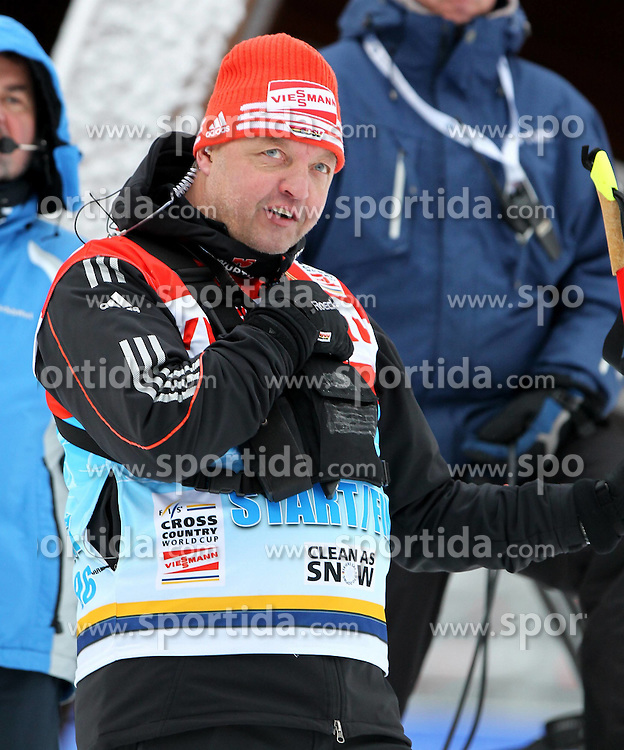 31.12.2011, DKB-Ski-ARENA, Oberhof, GER, Viessmann Tour de Ski 2011, FIS Langlauf Weltcup, Verfolgung Herren, im Bild Bundestrainer Jochen Behle (GER) // during men's pursuitof Viessmann Tour de Ski 2011 FIS World Cup Cross Country at DKB-SKI-Arena Oberhof, Germany on 2011/12/31. EXPA Pictures © 2011, PhotoCredit: EXPA/ nph/ Hessland..***** ATTENTION - OUT OF GER, CRO *****