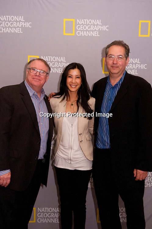 "Photos of the 25th anniversary of ""Explorer,"" television show at the National Geographic Headquarters in Washington DC on April 13, 2010"
