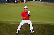 Sam Locke winner of the Silver Medal as top amateur<br /> On the 18th hole<br /> <br /> The 147th Open Championship, Carnoustie<br /> Final day 2018