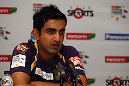 CLT20 - KKR Press Conference 12th October