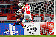 Onderwerp/Subject: Ajax - FC Barcelona - Champions League<br /> Reklame:  <br /> Club/Team/Country: <br /> Seizoen/Season: 2013/2014<br /> FOTO/PHOTO: Stefano DENSWIL (R) of Ajax in duel with NEYMAR ( Neymar DA SILVA SANTOS JUNIOR ) (L) of FC Barcelona. (Photo by PICS UNITED)<br /> <br /> Trefwoorden/Keywords: <br /> #04 $94 &plusmn;1377840750319<br /> Photo- &amp; Copyrights &copy; PICS UNITED <br /> P.O. Box 7164 - 5605 BE  EINDHOVEN (THE NETHERLANDS) <br /> Phone +31 (0)40 296 28 00 <br /> Fax +31 (0) 40 248 47 43 <br /> http://www.pics-united.com <br /> e-mail : sales@pics-united.com (If you would like to raise any issues regarding any aspects of products / service of PICS UNITED) or <br /> e-mail : sales@pics-united.com   <br /> <br /> ATTENTIE: <br /> Publicatie ook bij aanbieding door derden is slechts toegestaan na verkregen toestemming van Pics United. <br /> VOLLEDIGE NAAMSVERMELDING IS VERPLICHT! (&copy; PICS UNITED/Naam Fotograaf, zie veld 4 van de bestandsinfo 'credits') <br /> ATTENTION:  <br /> &copy; Pics United. Reproduction/publication of this photo by any parties is only permitted after authorisation is sought and obtained from  PICS UNITED- THE NETHERLANDS