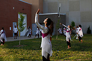 Shadow Drum and Bugle Corps performs in Oregon, Wisconsin on July 28, 2018. <br /> <br /> Beth Skogen Photography - www.bethskogen.com