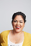 Portrait of school teacher Liz Hernandez<br /> Photographed by editorial and lifestyle Texas  photographer Nathan Lindstrom