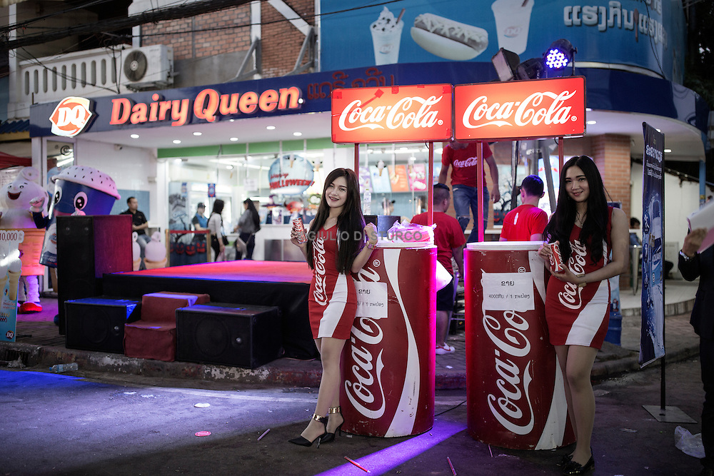 LAOS, NOVEMBER 2015<br />Laos as an example of globalization, sanctified by the opening of a factory for Coca Cola. Indeed, the global-as-asian, the mold of globalization throughout Asia, which in 2016 will be enshrined in the ASEAN chairmanship assigned to Laos.&nbsp;The signs of renewal are visible<br /><br />@Giulio Di Sturco