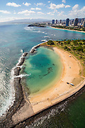 Magic Island, Ala Moana Beach Park, Honolulu, Oahu, Hawaii