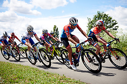 Janneke Ensing (NED) at Stage 2 of 2019 OVO Women's Tour, a 62.5 km road race starting and finishing in the Kent Cyclopark in Gravesend, United Kingdom on June 11, 2019. Photo by Sean Robinson/velofocus.com