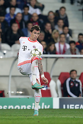 23.10.2012, Grand Stade Lille Metropole, Lille, OSC Lille vs FC Bayern Muenchen, im Bild Mario MANDZUKIC (FC Bayern Muenchen - 9) Freisteller // during UEFA Championsleague Match between Lille OSC and FC Bayern Munich at the Grand Stade Lille Metropole, Lille, France on 2012/10/23. EXPA Pictures © 2012, PhotoCredit: EXPA/ Eibner/ Gerry Schmit..***** ATTENTION - OUT OF GER *****