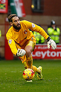 Adam Legzdins of Leyton Orient during the Sky Bet League 1 match at the Matchroom Stadium, London<br /> Picture by David Horn/Focus Images Ltd +44 7545 970036<br /> 22/11/2014