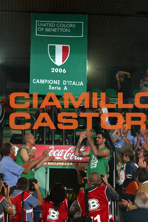 DESCRIZIONE : Treviso Precampionato Lega A1 2006-07 Memorial Bortoletto Benetton Treviso Cska Mosca <br />GIOCATORE : Soragna Scudetto <br />SQUADRA : Benetton Treviso <br />EVENTO : Precampionato Lega A1 2006-2007 Memorial Bortoletto <br />GARA : Benetton Treviso Cska Mosca <br />DATA : 27/09/2006 <br />CATEGORIA :  <br />SPORT : Pallacanestro <br />AUTORE : Agenzia Ciamillo-Castoria/M.Marchi