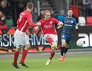FODBOLD: Simon Jakobsen (Silkeborg IF) under kampen i ALKA Superligaen mellem Silkeborg IF og FC Helsingør den 31. marts 2018 i Jysk Park, Silkeborg. Foto: Claus Birch.
