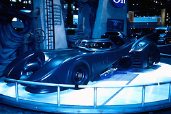 onstar batmobile as seen at the Chicago Auto Show in February 2001 at McCormick Place, Chicago Illinois...This image was scanned from a slide, print or transparency.  Image quality may vary.  Dust and other unwanted artifacts may exist.