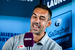 Saracens Coach Alex Sanderson at the launch of the 2018/19 Gallagher Premiership Rugby Season Fixtures - Mandatory by-line: Robbie Stephenson/JMP - 06/07/2018 - RUGBY - BT Tower - London, England - Gallagher Premiership Rugby Fixture Launch