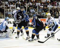 Action from Game 3 of the 2011 MasterCard Memorial Cup between the Mississauga St. Michael's Majors and the Kootenay Ice on Sunday May 22 in Mississauga, ON. Photo by Aaron Bell/CHL Images