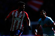 Atletico Madrid's Spanish forward Diego Costa runs during the Spanish championship Liga football match between Atletico de Madrid and RC Celta on March 11, 2018 at the Wanda Metropolitano stadium in Madrid, Spain - Photo Benjamin Cremel / ProSportsImages / DPPI