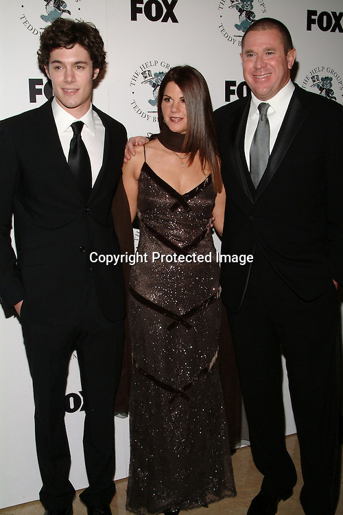 Adam Brody, Barbara Grushow &amp; Sandy Grushow<br />The H.E.L.P. Group&rsquo;s Teddy Bear Ball, honoring Sandy Grushow and his wife Barbara<br />Beverly Hilton Hotel<br />Beverly Hills, CA, USA  <br />Saturday, December 6, 2003  <br />Photo By Celebrityvibe.com/Photovibe.com